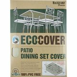 Backyard Basics Eco-Cover Patio Dining Set Cover