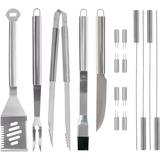 Mr. Bar.B.Q 18 Piece Tool Set with Aluminum Case