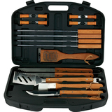 Mr. Bar.B.Q 18 Piece BBQ Tool Set With Plastic Case - 94001X