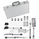 Mr. Bar.B.Q 21 Piece Stainless Steel Tool Set with Aluminum Case