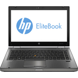"HP EliteBook 8470w B8V37UT 14"" LED Notebook - Intel - Core i5 i5-3320M 2.6GHz - Gunmetal"