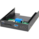 SIIG USB 3.0 Internal Bay Multi Card Reader/eSATA JU-MR0911-S1