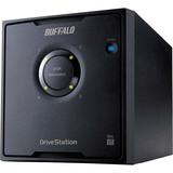 Buffalo DriveStation Quad HD-QL16TU3R5 DAS Array - 4 x HDD Installed - 16 TB Installed HDD Capacity