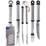 Mr. Bar.B.Q 5 Piece Stainless Steel Barbecue Tool Set