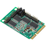 SIIG 4-Port RS232 Serial Mini PCIe with Power - JJE40111S1