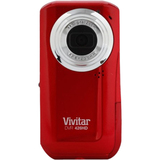"Vivitar DVR 426HD Digital Camcorder - 1.8"" LCD - CMOS - HD - Black"