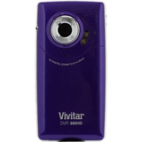 "Vivitar DVR 880HD Digital Camcorder - 2"" LCD - CMOS - HD - Black - DVR880HDLIC"
