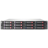 HP StorageWorks P2000 G3 DAS Array - 12 x HDD Supported - 36 TB Supported HDD Capacity AW593B