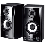 Genius SP-HF1201A 2.0 Speaker System - 30 W RMS - Black - 31730027102