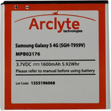 Arclyte Battery for Samsung MPB02176