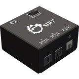 SIIG 2x1 S/PDIF TOSLINK Digital Audio Switch CE-TS0111-S1