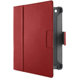 Belkin Cinema Carrying Case (Folio) for iPad - Red Carpet, Gravel