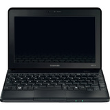 "Toshiba Mini NB510-024 10"" LED Netbook - Intel Atom 1.60 GHz - Black PLL72C-02401D"