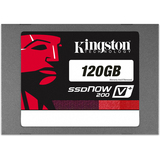 Kingston SVP200S37A/120G 120GB SSDNow V+200 SATA3 2.5 7MM Solid State Drive W/ADAPTER.