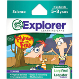 LeapFrog Explorer Game Cartridge: Disney Phineas and Ferb Education Manual