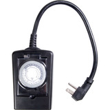 AmerTac Outdoor 1-Outlet Daily Mechanical Timer