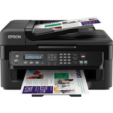 Epson WorkForce WF-2530 Inkjet Multifunction Printer - Color - Plain Paper Print - Desktop C11CC37202