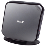Acer Veriton N282G Nettop Computer - Intel Atom D525 1.80 GHz - Mini PC - Black, Gray DT.VBHAA.002