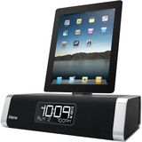 SDI Technologies iD50 Desktop Clock Radio - Stereo - Apple Dock Interf - ID50BZC