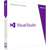 Microsoft Visual Studio 2012 Ultimate With MSDN - Complete Product - 1 User H9F-00318