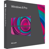 Windows Professional 8 32-bit/64-bit English Version Upgrade 1 License - 3UR00001