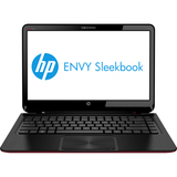 "HP Envy Sleekbook 6-1100 6-1140ca C2K97UA 15.6"" LED Notebook - AMD - A-Series A4-4355M 1.9GHz - Red - Midnight Black C2K97UA#ABL"