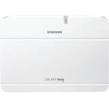 Samsung Carrying Case (Book Fold) for 10.1&quot; Tablet PC - White - EFC1G2NWECXAR