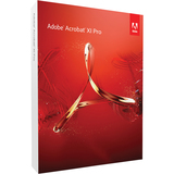 Adobe Acrobat v.XI Pro - Complete Product - 1 User - 65195199