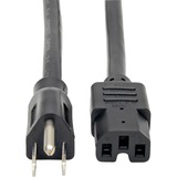 Tripp Lite 4-ft. Heavy Duty 14AWG Power Cord, 5-15P - to - C15