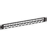 ICC Blank Patch Panel 24-Port EZ 1RMS - IC107BE241
