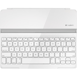 Logitech Keyboard/Cover Case for iPad - White - 920004723