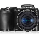 Samsung WB100 16.2 Megapixel Compact Camera - Black - ECWB100ZBABUS