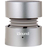 dreamGEAR i.Sound ISOUND-1687 Speaker System - 3 W RMS - Silver - ISOUND1687