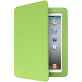 Aluratek Slim Color Keyboard/Cover Case (Folio) for iPad - Green Apple ABTK02FG