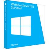 Microsoft Windows Server 2012 Standard 64-bit - License and Media - 2 - P7305328