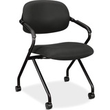 Basyx by HON VL303 Upholstered Back Nesting Chairs VL303MM10T