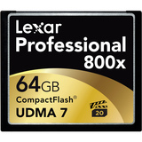 Lexar Media Professional 64 GB CompactFlash (CF) Card - 1 Card