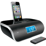 i.Sound DreamTime Pro ISOUND-5222 Desktop Clock Radio - 6 W RMS - Stereo - Apple Dock Interface ISOUND-5222
