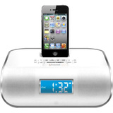 i.Sound DreamTime Pro ISOUND-5223 Desktop Clock Radio - 6 W RMS - Stereo - Apple Dock Interface ISOUND-5223