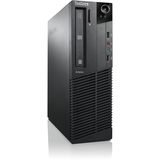 Lenovo ThinkCentre M78 5100A1U Desktop Computer - AMD A-Series A8-5500B 3.2GHz - Small Form Factor - Business Black 5100A1U