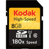 Kodak 8 GB Secure Digital High Capacity (SDHC) - 1 Card - KSD8GBHSBNA200
