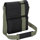 "Targus TBM564CA Carrying Case (Messenger) for 13"" Notebook, Ultrabook, MacBook - Black, Green TBM564CA"