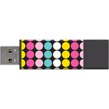 Centon 8GB USB PRO2 Macbeth Soda Pop Dots Retail DSPTM8GB-POP