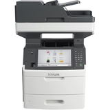 Lexmark MX711DHE Laser Multifunction Printer - Monochrome - Plain Paper Print - Desktop