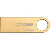 Kingston 8GB USB 2.0 DataTraveler GE9 (Gold Metal casing) US DTGE9/8GBZ