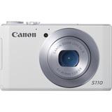 Canon PowerShot S110 12.1 Megapixel Compact Camera - White