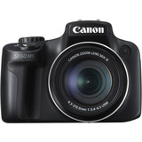 Canon PowerShot SX50 HS 12.1 Megapixel Bridge Camera - Black - 6352B001
