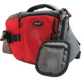 Dolica SB-015RD Carrying Case for Camera - Gray, Red - SB015RD