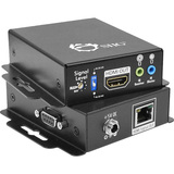 SIIG HDMI Extender over Single CAT5/6 with IR/RS-232 & Auto EDID