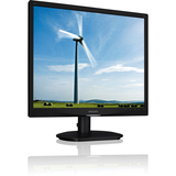 "Philips 19S4LSB 19"" LED LCD Monitor - 5:4 - 5 ms 19S4LSB/27"